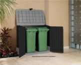 Was ist eine Mülltonnenbox, Nutzen und Vorteile, Mülltonnenverkleidung