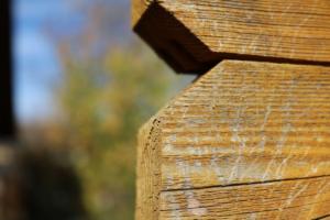 Müllbox selber bauen aus Holz
